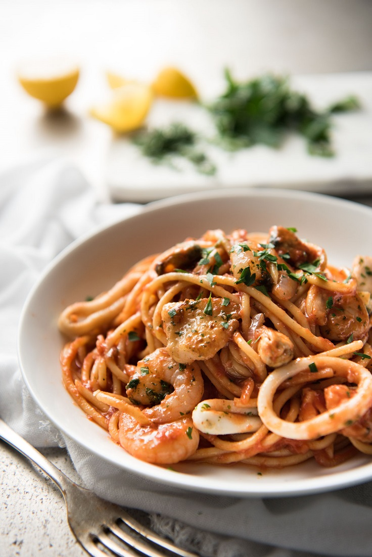Seafood-Spaghetti-Marinara