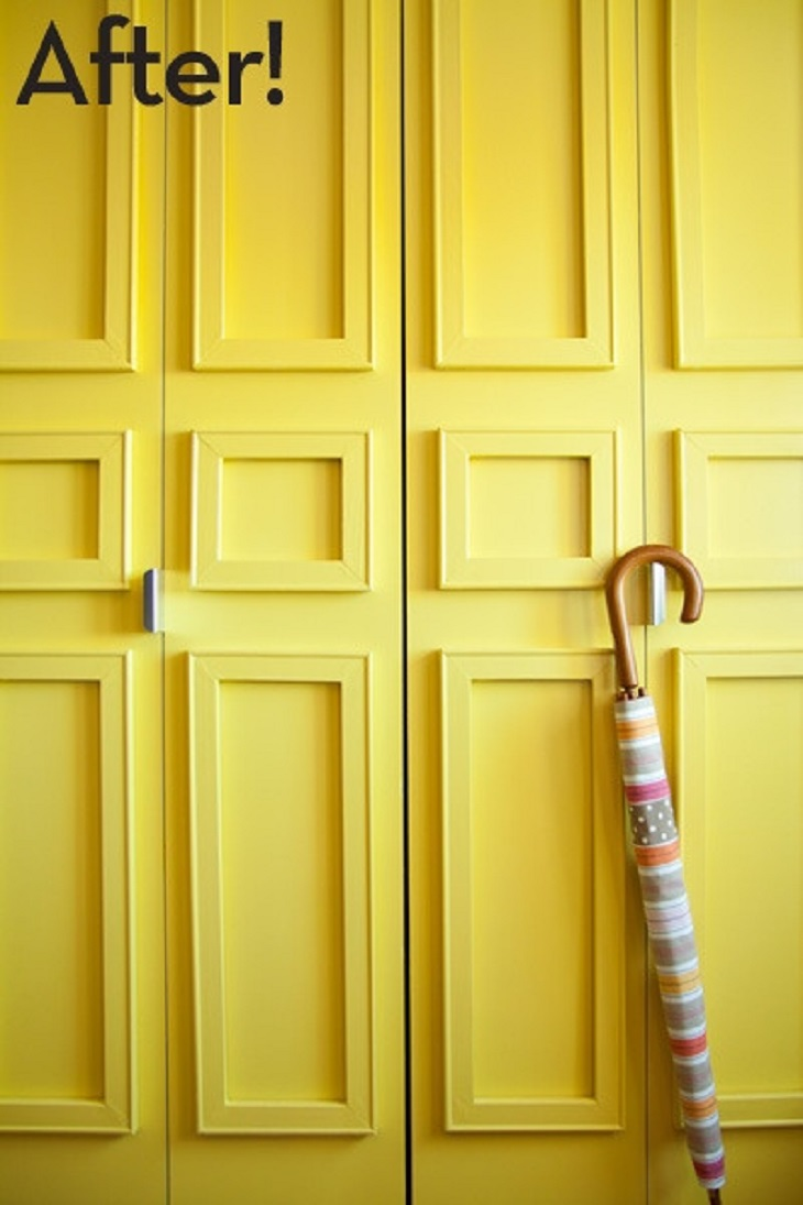 Top 10 Awesome Closet Door Makeover Projects Top Inspired