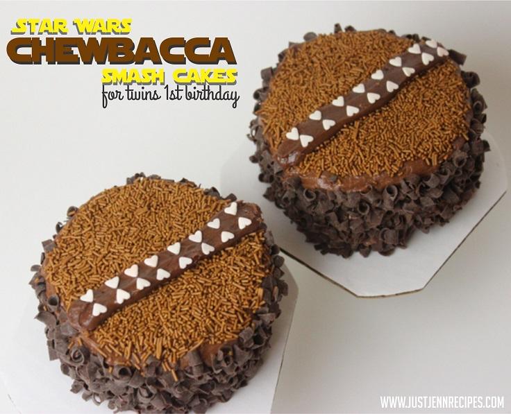 Chewbacca-Cakes