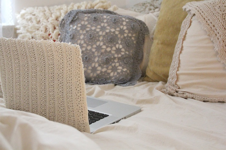 Crochet-Laptop-Cover