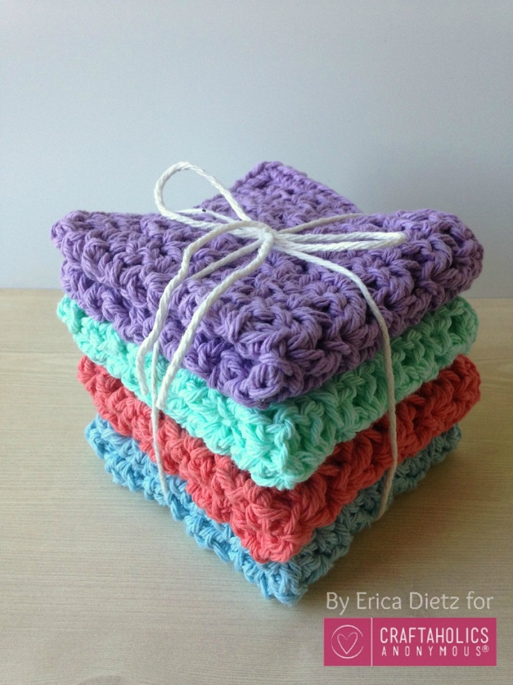 Crochet-Washcloths