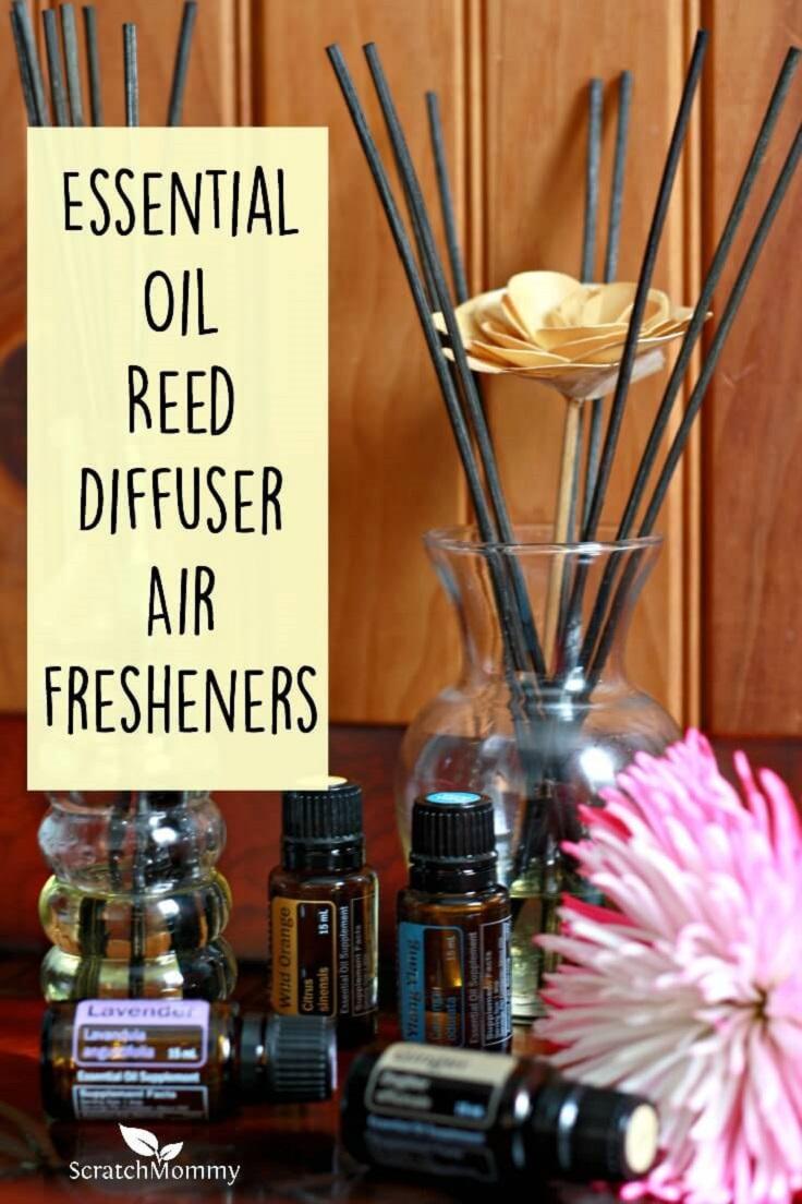 Oil diffuser air fresheners