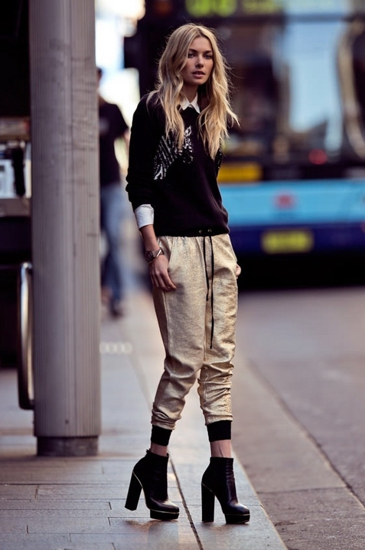 Jogger-Pants-with-High-Heels