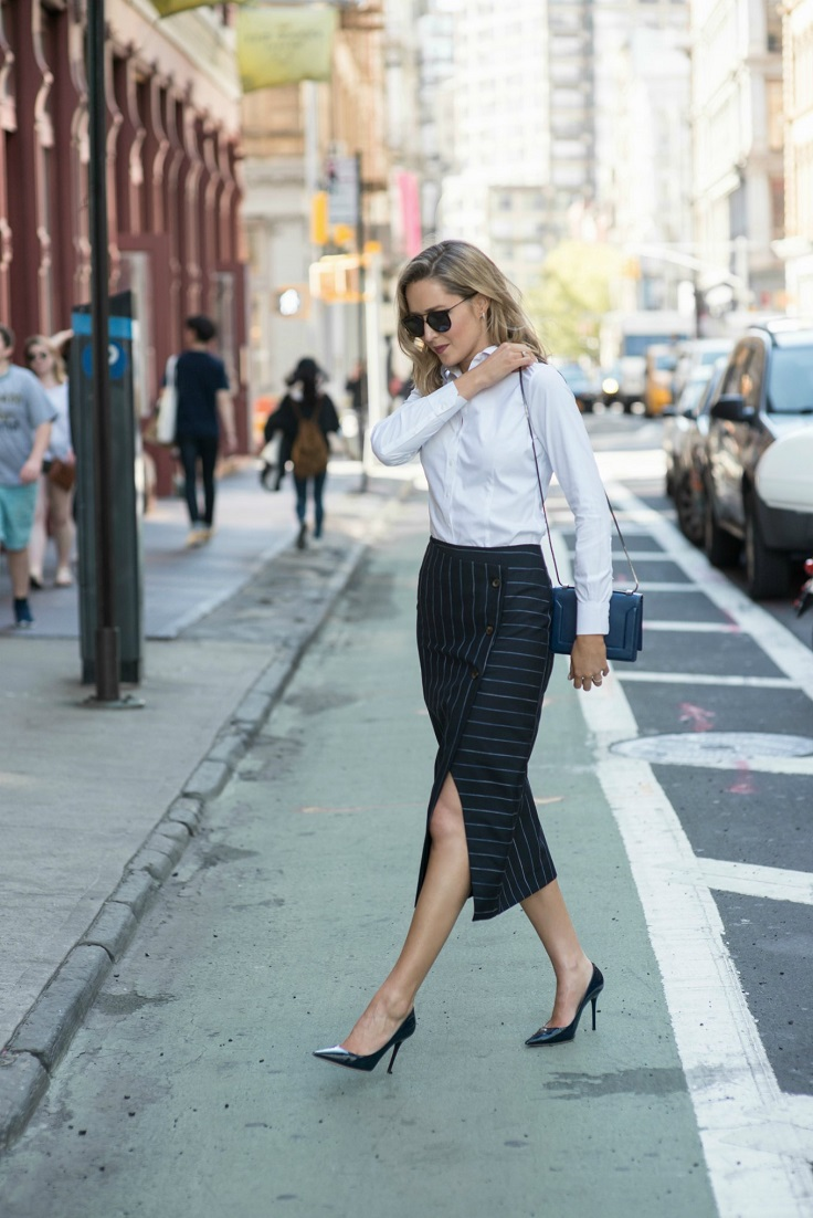 Top 10 Outfit Ideas with Pencil Skirts - Top Inspired
