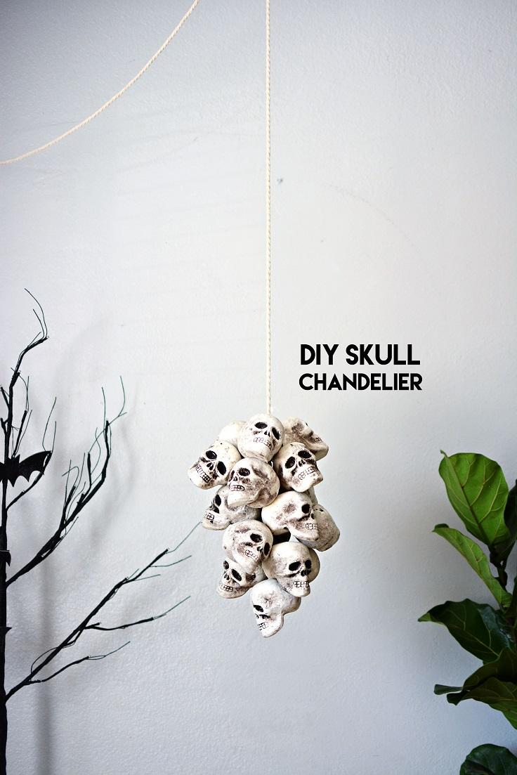 Skull-Chandelier