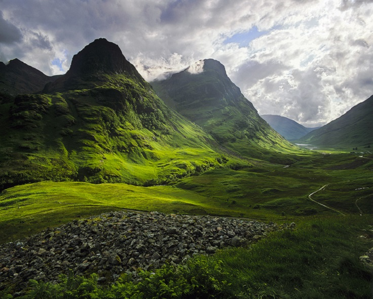 scotland natural scenery mountains - photo #16