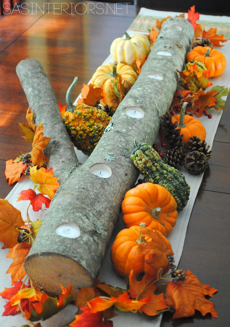 Top 10 DIY Super Quick and Easy Thanksgiving Centerpieces