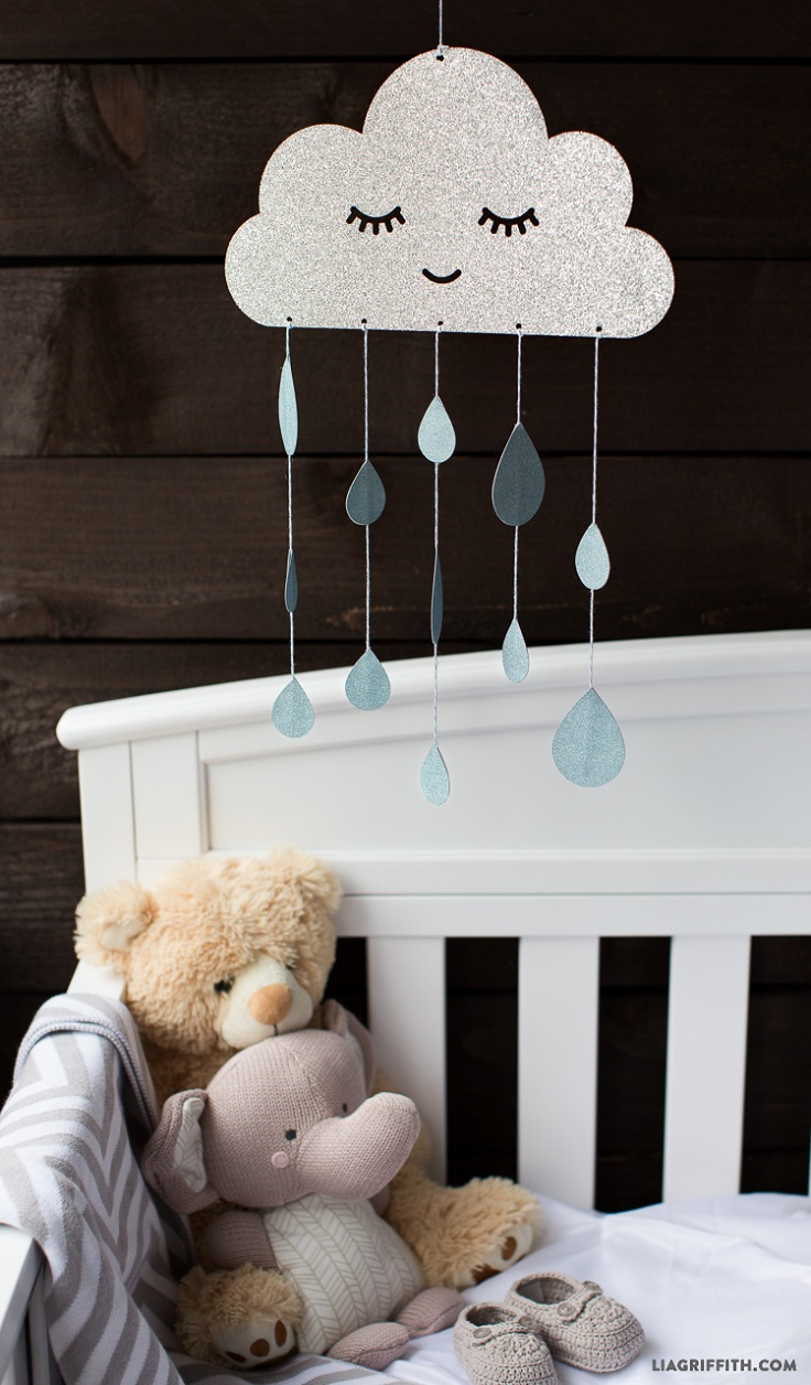 Top 10 DIY Cute Nursery Mobile Ideas