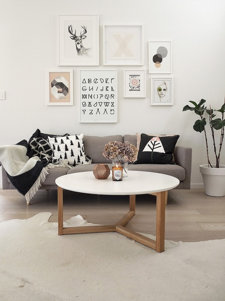 Top 10 Chic Examples of Living Rooms Inspired by the Scandinavian Style
