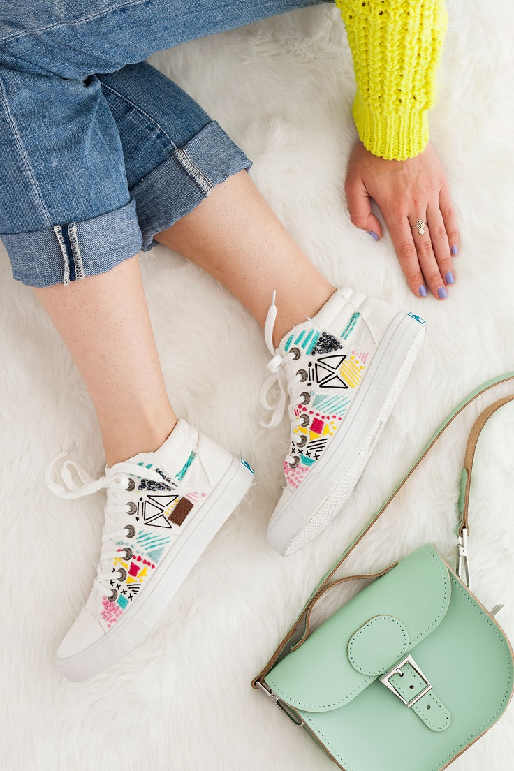 Top diy embroidery ideas for clothes and shoes