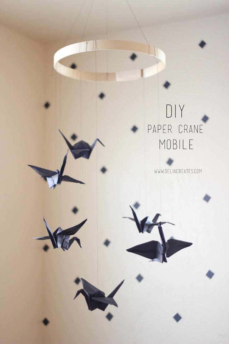 Paper-Crane-Mobile