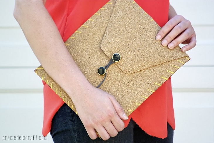 TOP 10 DIY Crafts With Cork Fabric