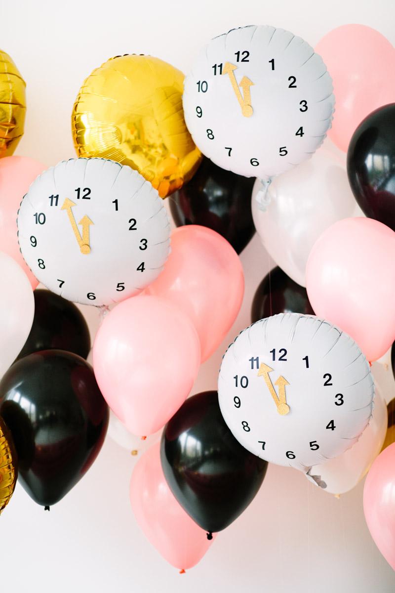 Clock-Balloons