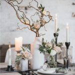 One of the most important things to think about when planning a wedding are the decorations, especially the flowers. Table centerpieces can really make the whole atmosphere more special so obviously you should carefully choose them. When a winter wedding is in question, the centerpieces should resemble the festive season which although is the coldest, makes us feel warm and cozy and romantic.