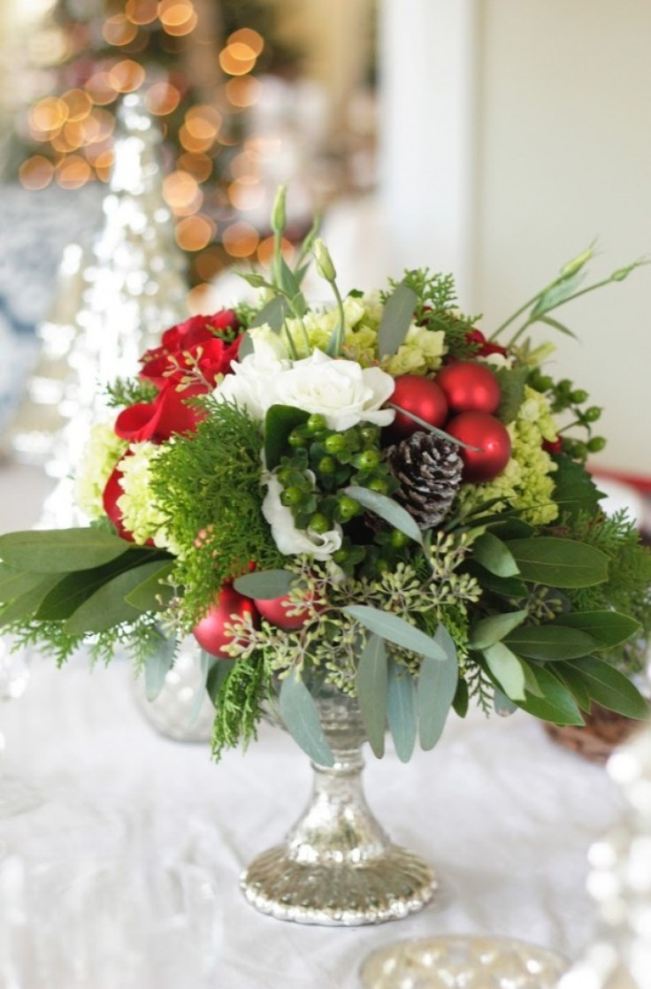 Flowers-and-Christmas-Ornaments