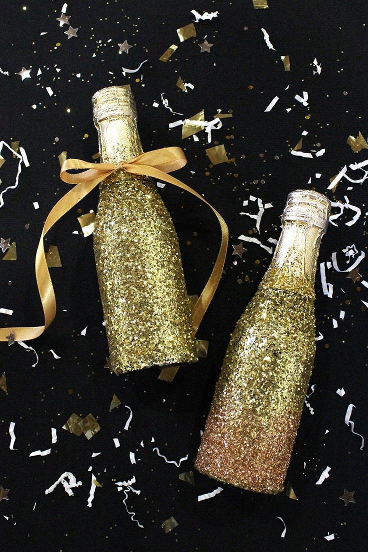 Gold-Glitter-Champagne-Bottles