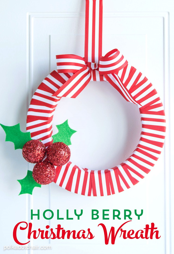 Holly-Berry-Wreath