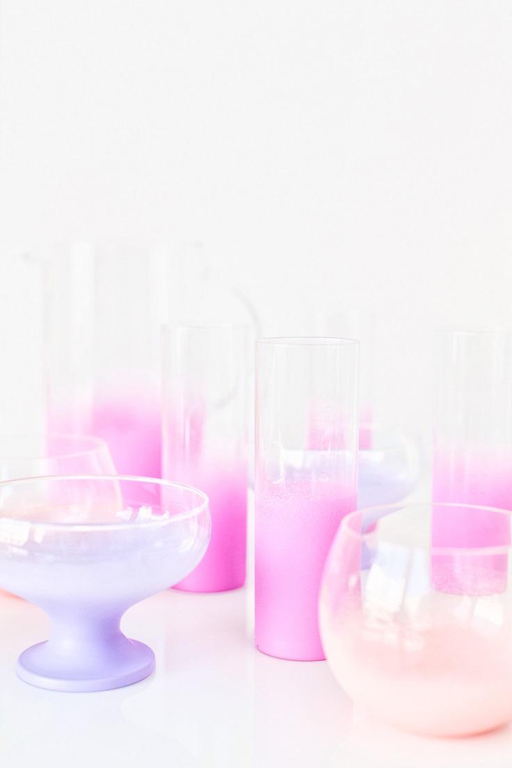 Ombre-Glassware