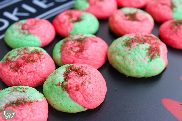 Red-Green-Sugar-Cookies