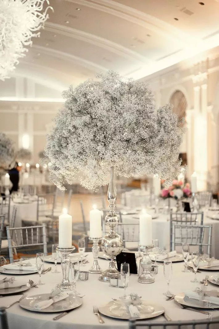 Top 10 stunning winter wedding centerpiece ideas top inspired top 10 stunning winter wedding centerpiece ideas junglespirit