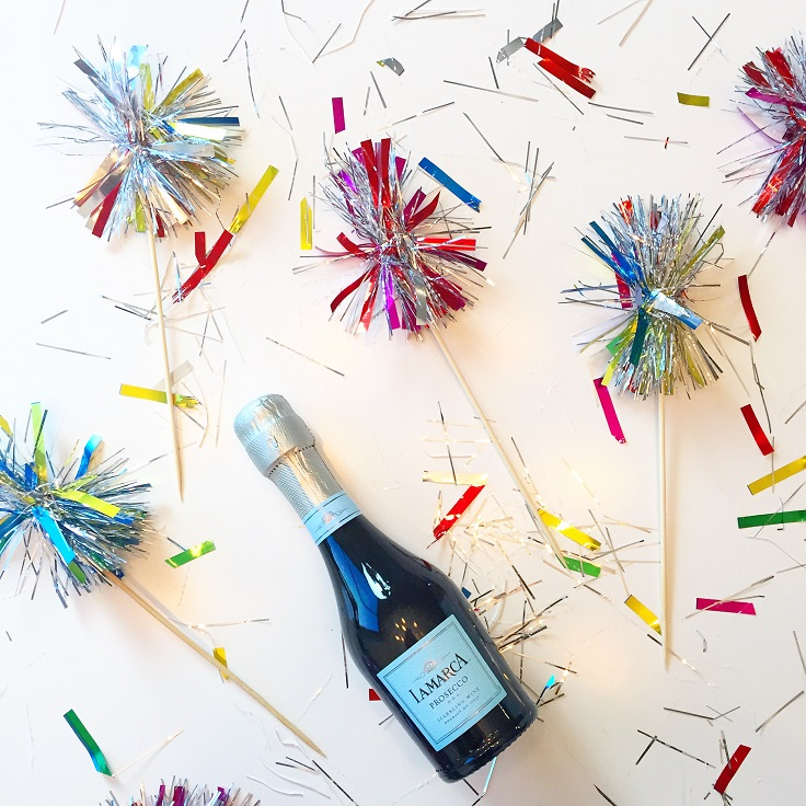 Tinsel-Drink-Stirrers