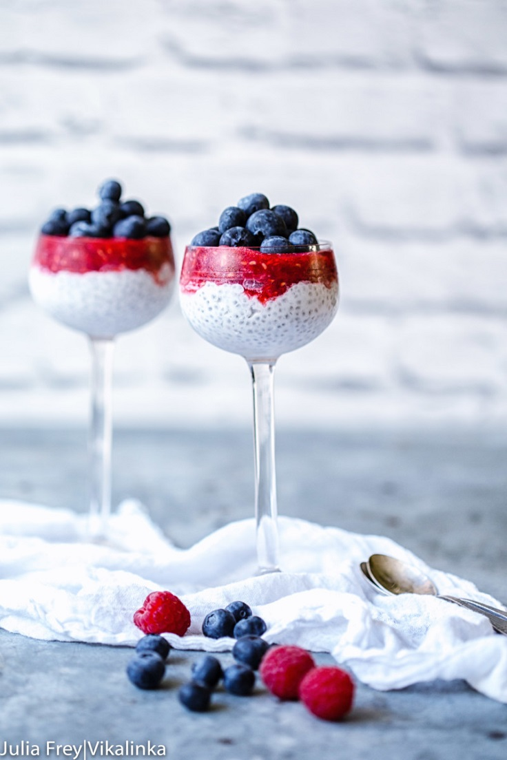 Coconut-Chia-Seed-Parfait-with-Summer-Berries