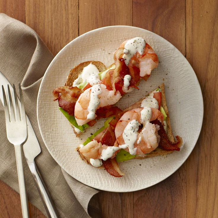 Shrimp-BLT-Toasts