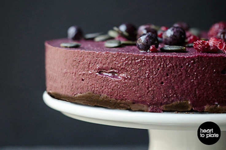 Blueberry-and-Acai-Berry-Cheesecake