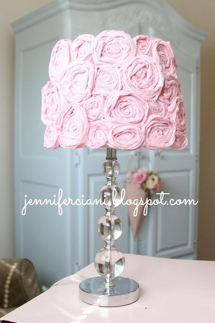 Lamp-with-Fabric-Roses