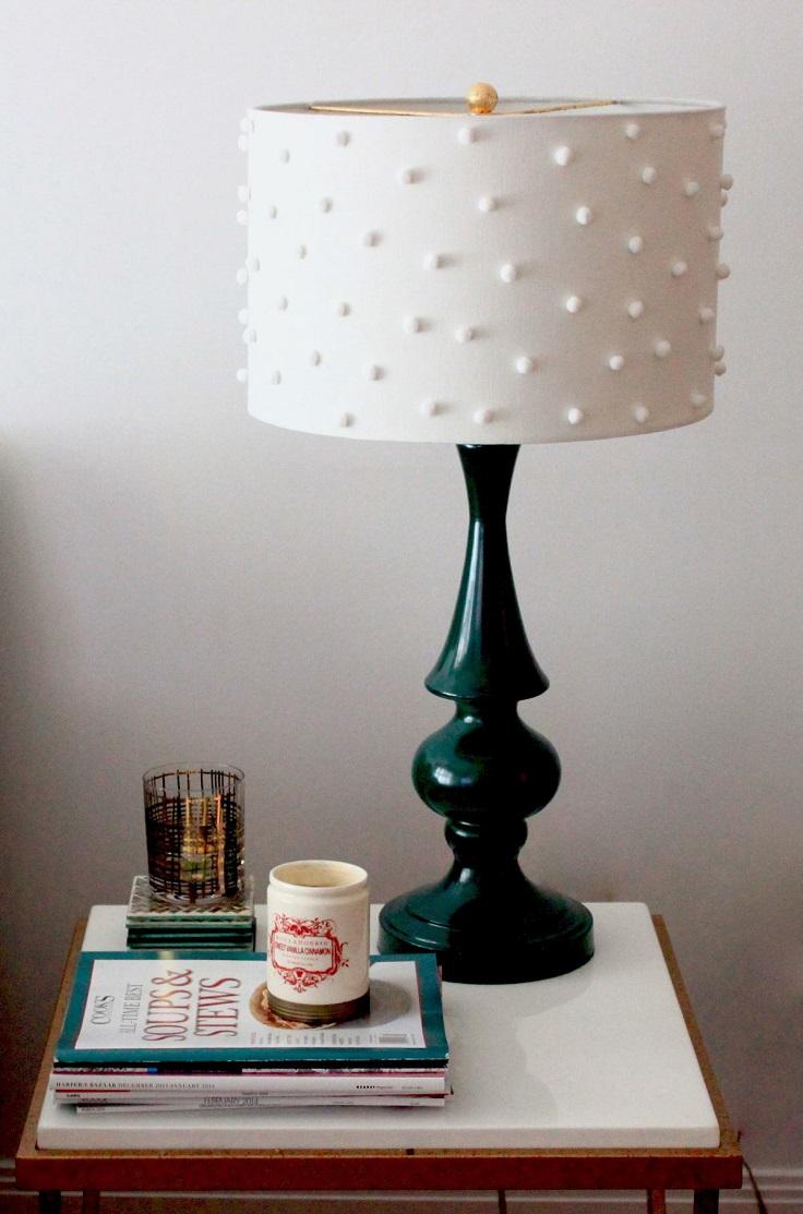 Pom-Poms-Lamp