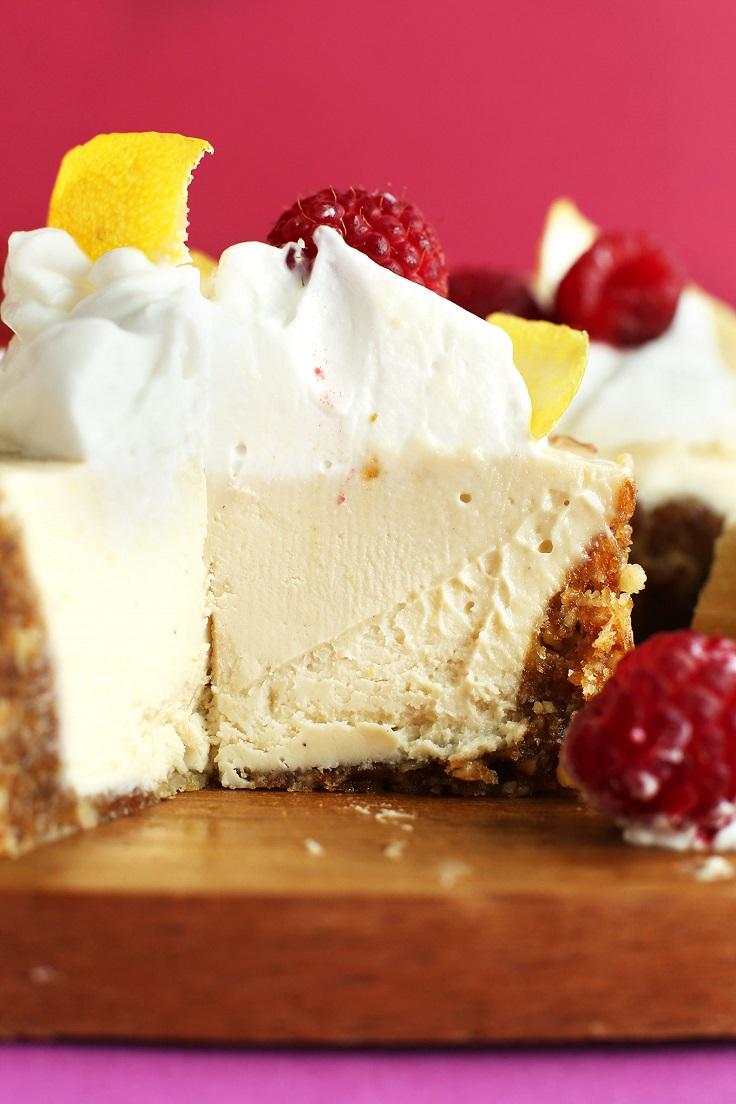Vegan Strawberry Cheesecake Recipe