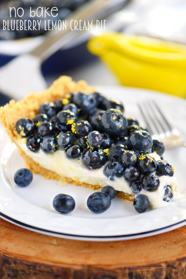 Blueberry-Lemon-Cream-Pie