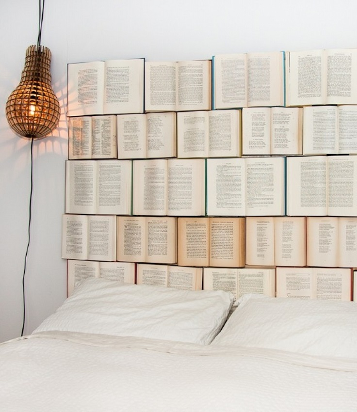 Books-Headboard