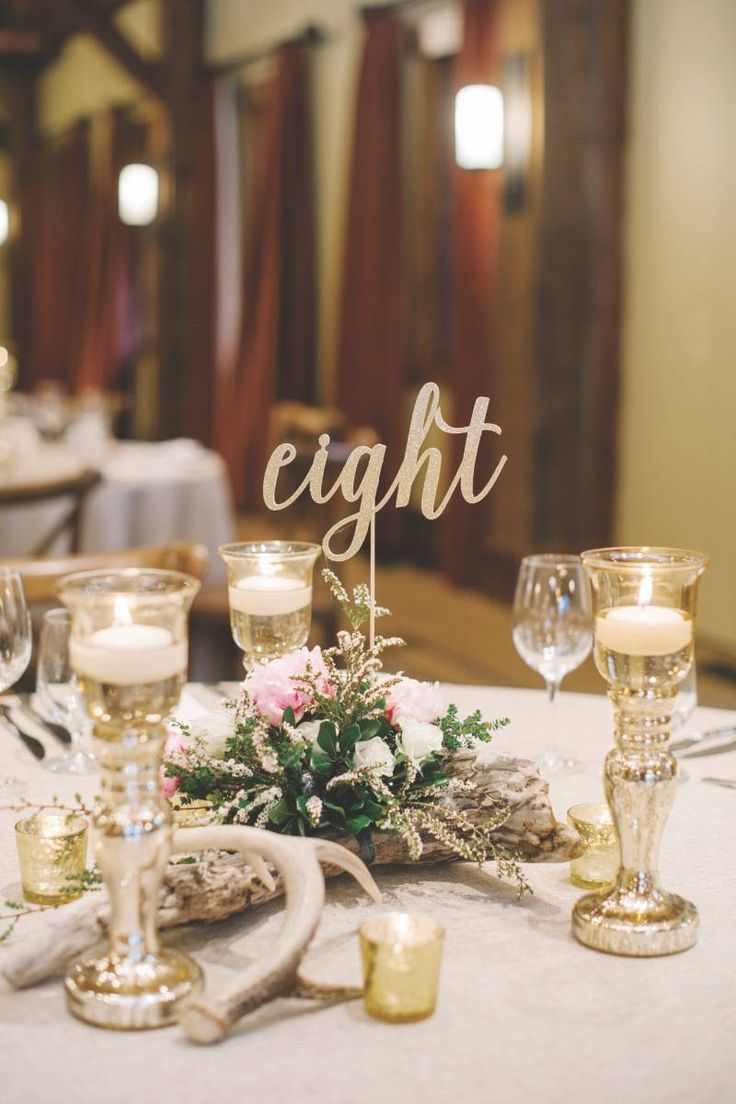 Top 10 wonderful wedding table numbers ideas top inspired for Table design numbers
