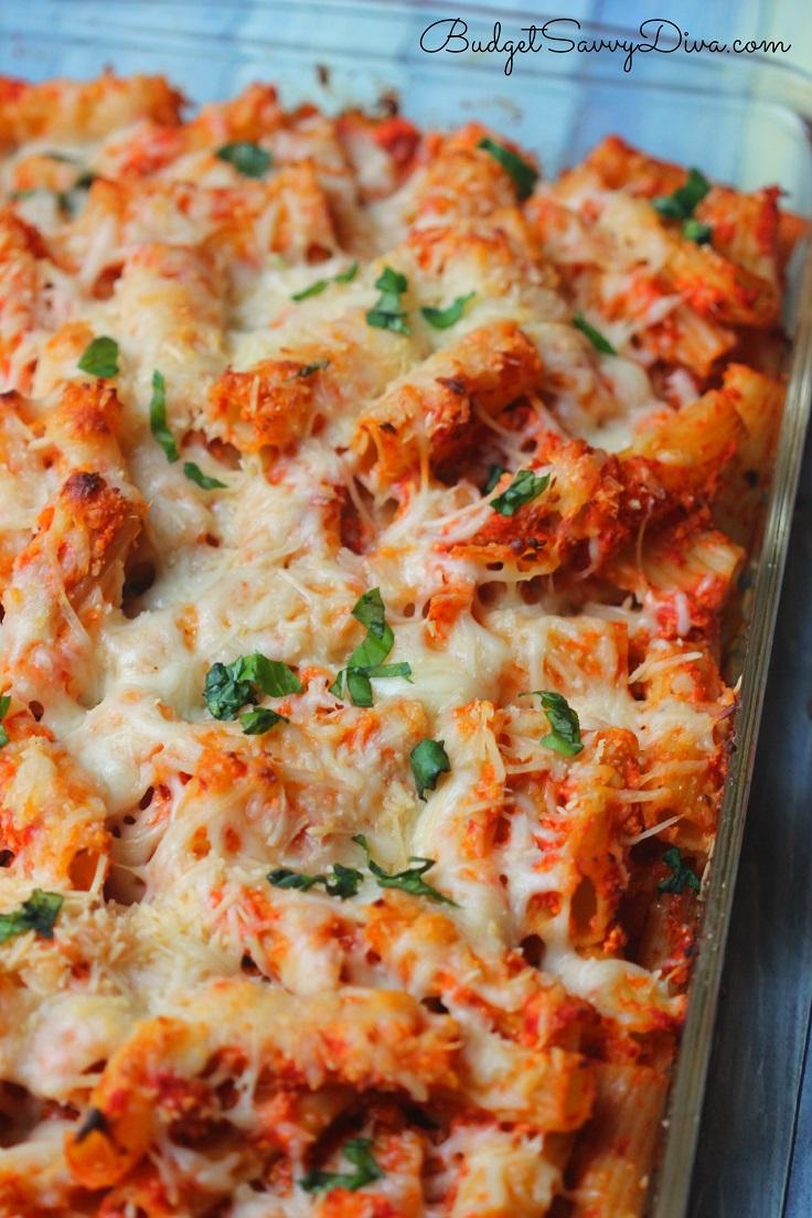 Chicken-Parmesan-Baked-Pasta