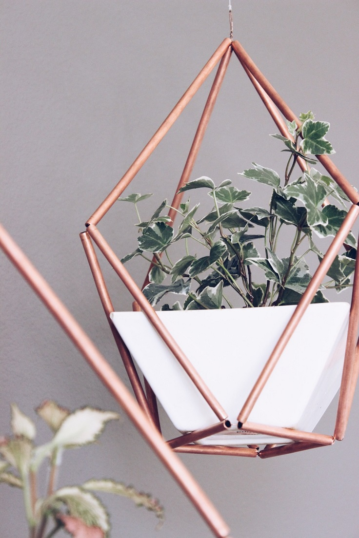 Copper-Himmeli-Hanging-Planter