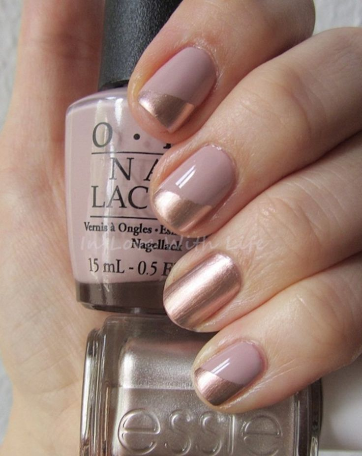 Top 10 Simple and Beautiful Nude Nail Art Ideas