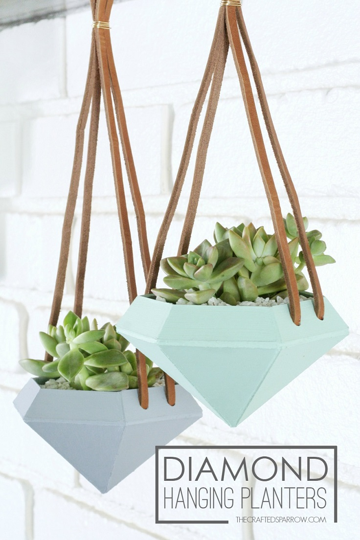Diamond-Hanging-Planter