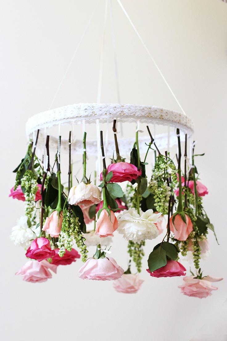 Flower-Chandelier