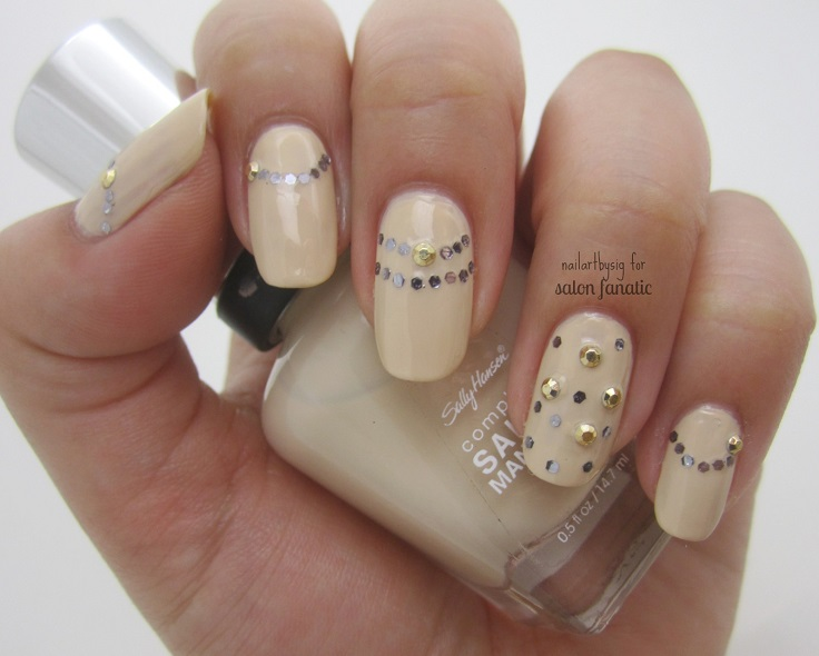 Preferenza Top 10 Simple and Beautiful Nude Nail Art Ideas - Top Inspired VP05