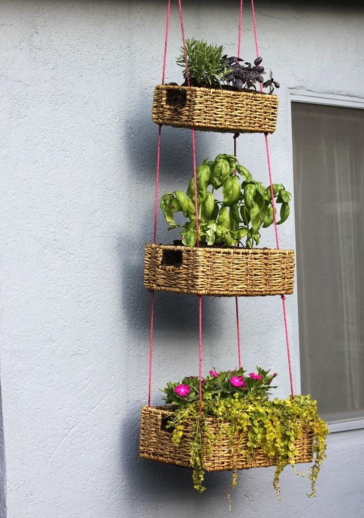 Hanging-Basket-Garden