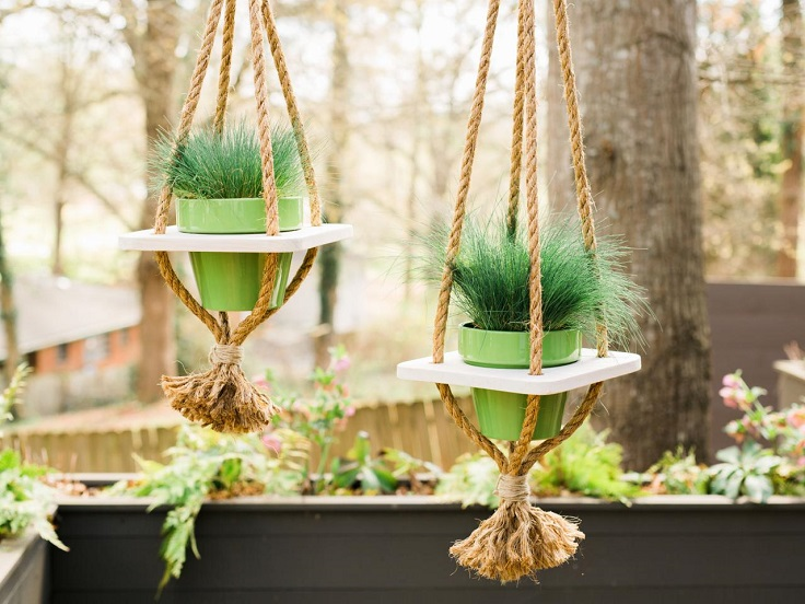 Hanging-Planter-with-Rope