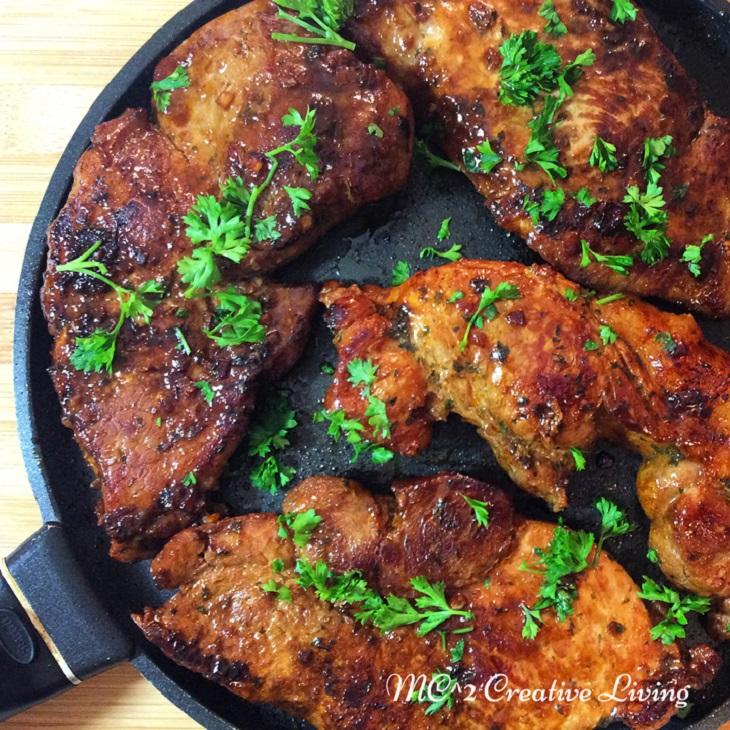 Korean-Style-Pork-Chops