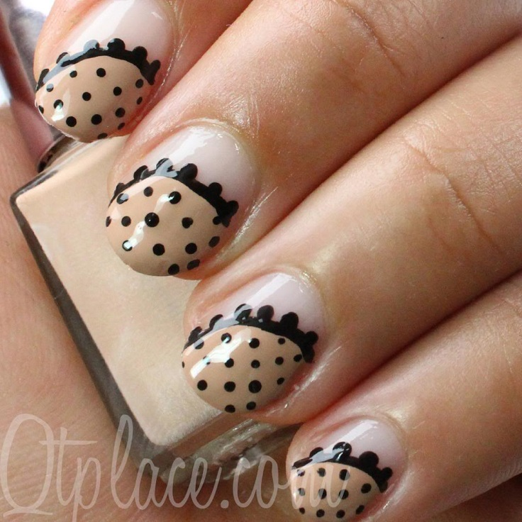 Top 10 Simple and Beautiful Nude Nail Art Ideas - Top Inspired