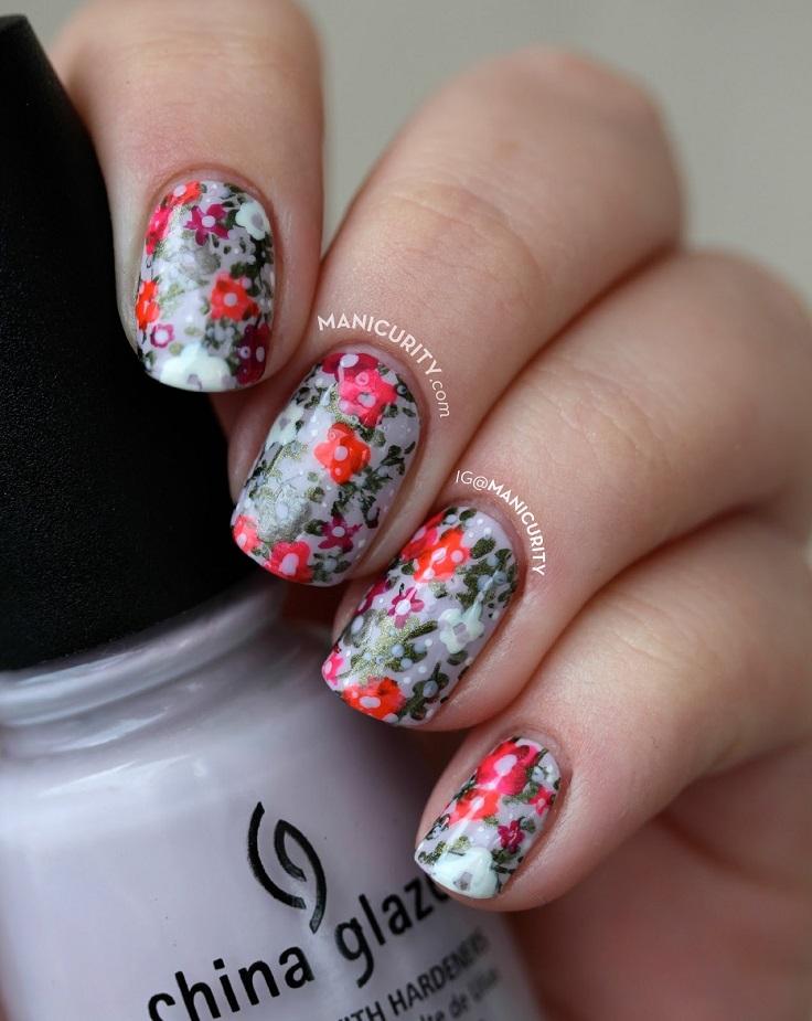 Neon-Florals