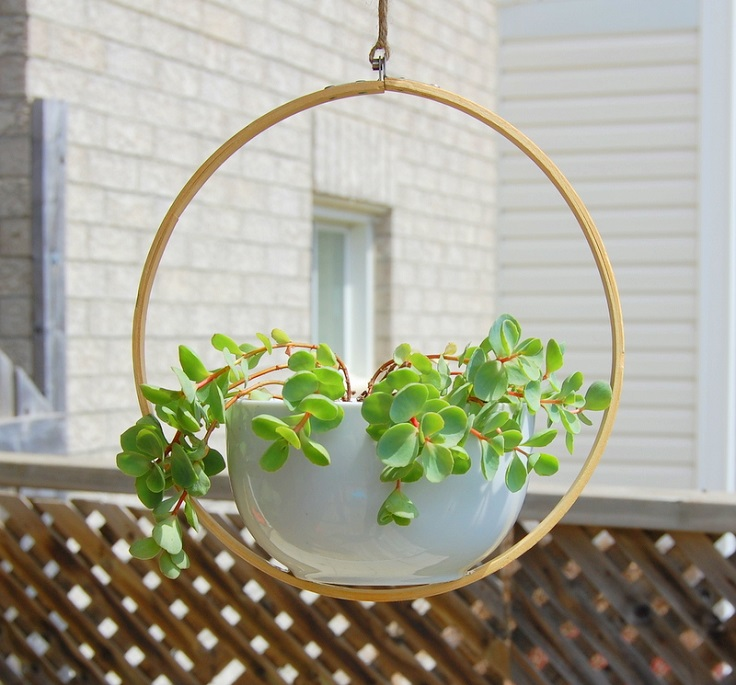 Planter-with-Embroidery-Hoop