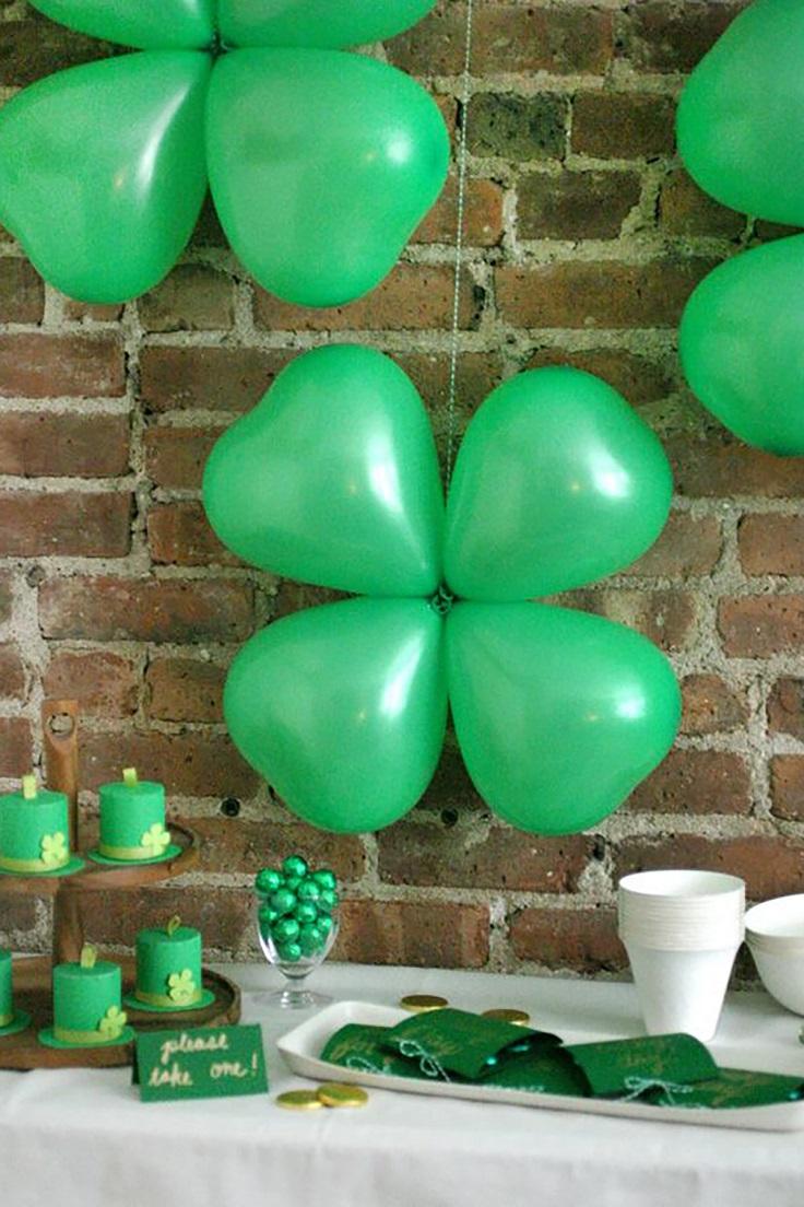 Shamrock-Balloons