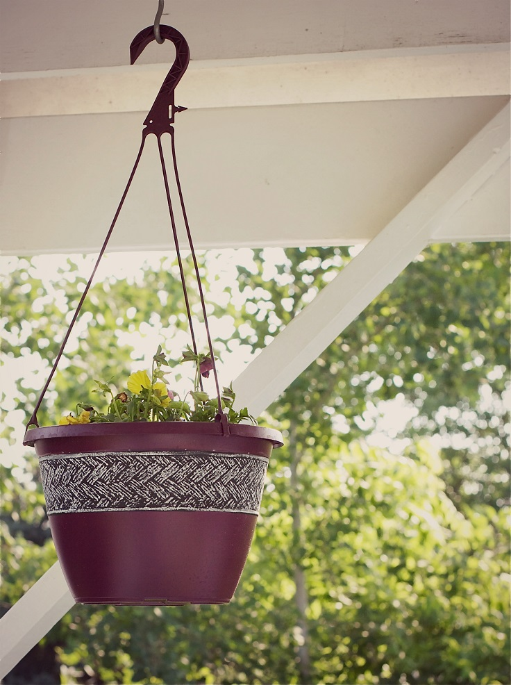 Simple-Upcycled-Planter