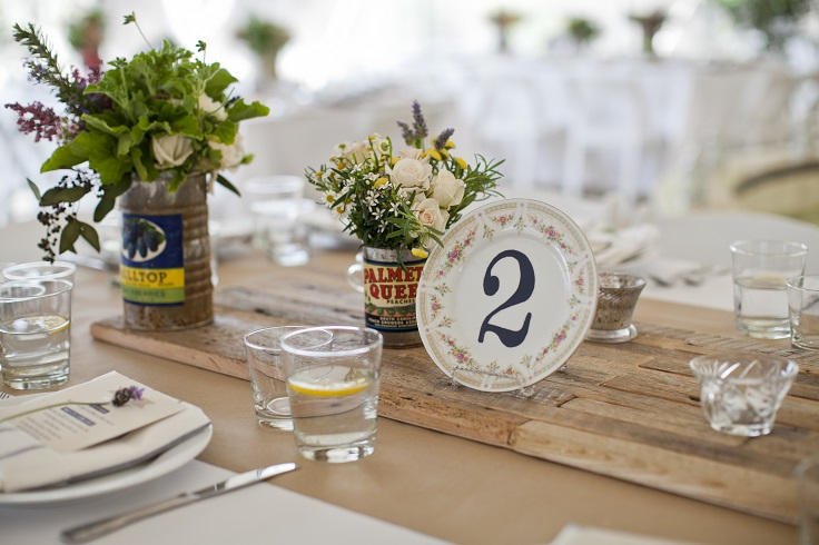Top 10 Wonderful Wedding Table Numbers Ideas