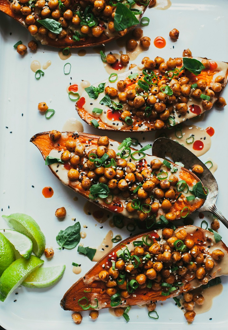 Stuffed-Sauced-Sweet-Potatoes